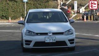 『みんなのモーターショースーパー』VW Golf R