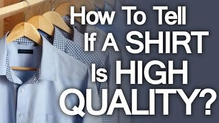 getlinkyoutube.com-Buying High Quality Dress Shirt | 5 Tips On How To Buy Well Made Shirts - High End Shirting