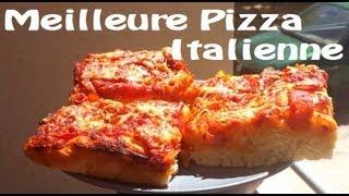 ♥ Recette de la VRAIE Pizza italienne de mémé ♥