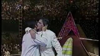 getlinkyoutube.com-Leandro & Leonardo e Fábio Jr. - Desculpe Mas Eu Vou Chorar - Amigos 1997