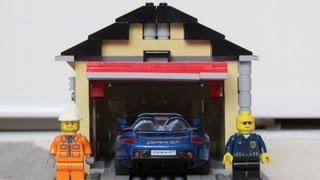 getlinkyoutube.com-LEGO Garage Build -  Time Lapse [HD]