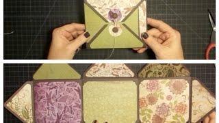 getlinkyoutube.com-Envelope Explosion Mini Album Using the Envelope Punch Board