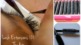 getlinkyoutube.com-Eyelash Extensions 101 - The Kit