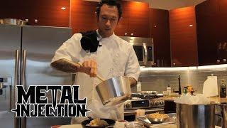 Taste Of Metal - TRIVIUM's Matt Heafy Cooks Brunch! | Metal Injection
