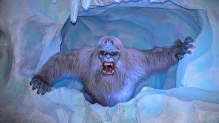 getlinkyoutube.com-Matterhorn Bobsleds With New Yeti Animatronic & Effects @ Disneyland Full Ride Through