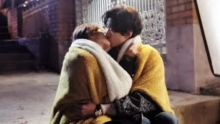 getlinkyoutube.com-I Need Romance 3 Sung Joon and Kim So Yeon BTS Kissing scenes