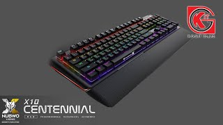 getlinkyoutube.com-รีวิว NUBWO X-Series Machanical Keyboard รุ่น Centennial X10