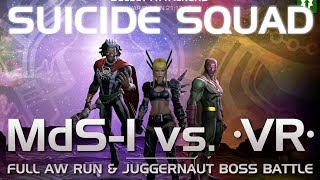 The Suicide Squad: Full AW Run & Juggernaut Boss Battle w/ Suicides | Marvel Contest of Champions