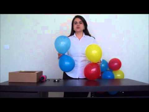 Video Passo a Passo de Arco de Balões