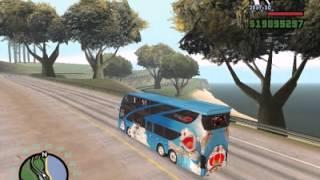 getlinkyoutube.com-mod รถบัสโดเรม่อน