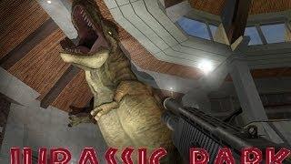 getlinkyoutube.com-Escape From Jurassic Park - (Garry's Mod)
