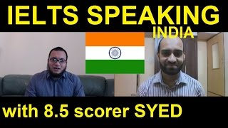 getlinkyoutube.com-India IELTS Speaking Test Samples Band 7 7.5 online preparation Skype SYED 8