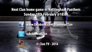 getlinkyoutube.com-Braehead Clan vs Belfast Giants 27/2/2016 - EIHL