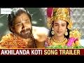 Akhilanda Koti Song Latest Trailer | Om Namo Venkatesaya Movie | Nagarjuna | Anushka | Pragya