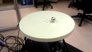 getlinkyoutube.com-6 DOF Hexapod - Controlling a ball with a PID (CoDAlab)