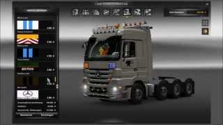 getlinkyoutube.com-Euro Truck Simulator 2 Modvorstellung Tuning Pack für Mercedes Benz Actros