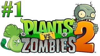 getlinkyoutube.com-Растения против зомби 2 Прохождение Египет 1