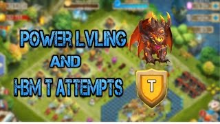 Castleclash: Ghoulem, Power Lvling, and HBM T attemts