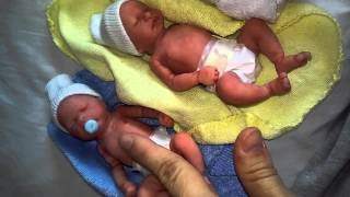 getlinkyoutube.com-Silicone Baby or Newborn Babies For Sale  February 2016 Anatomically Correct 3 girls 1 boy