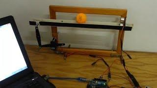getlinkyoutube.com-Arduino PID Balancing of a Ball on Beam + code