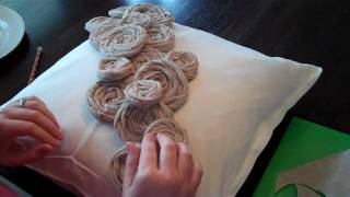 getlinkyoutube.com-How to Make Rolled Rosette Flowers