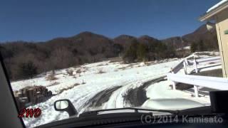 getlinkyoutube.com-【ジムニー車載】雪道の上り坂カーブで二駆と四駆を比較してみた
