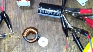 getlinkyoutube.com-Бедини эффект без двигателя 10 Своими руками, резонанс. тороидальная катушка.магниты неодимовые
