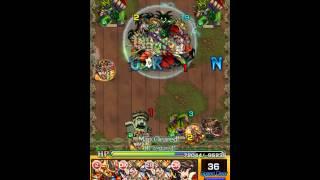 getlinkyoutube.com-[Monster Strike] Kushinada Kind of Stable Team (Orochi's Forest Prize Impossible - Solo)