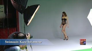 getlinkyoutube.com-LIGHTING FASHION - Day1-Part2 Studio Photography Workshop with Bowens flash kits and swimsuit models