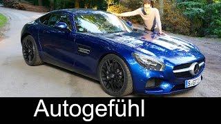 getlinkyoutube.com-All-new Mercedes-AMG GT FULL REVIEW test driven 2016 - Autogefühl