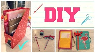 getlinkyoutube.com-DIY FOURNITURES SCOLAIRES 📓✏️! 📎 #BTSwithHippo