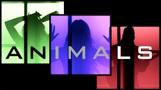 Animals - Maroon 5 | Ali Brustofski & Popgun Cover (Music Video)