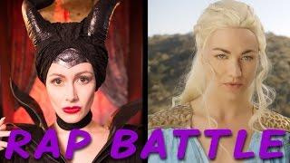getlinkyoutube.com-MALEFICENT vs DAENERYS: Princess Rap Battle (Yvonne Strahovski & Whitney Avalon) *explicit*