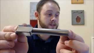 getlinkyoutube.com-1st time polishing glock 17 barrel - how to