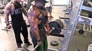getlinkyoutube.com-TRAPS (725 LB Shrugs): Kali Muscle + Thai + The Beast