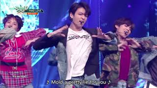 BTS (방탄소년단)   FAKE LOVE [Music Bank HOT STAGE / 2018.06.08]