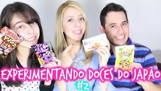 getlinkyoutube.com-Experimentando doces do Japão #2 | Familia Matsura ♡