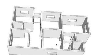 getlinkyoutube.com-٥- SketchUp سكتش اب : فتحات الأبواب والشبابيك