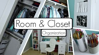 getlinkyoutube.com-How to Organize Your Room and Closet! BEST Tips and Tricks + DIY's!