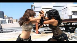 getlinkyoutube.com-Asian Girls Rooftop Fight