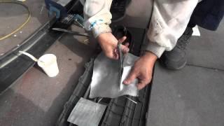 getlinkyoutube.com-エアロパーツ-割れ-破損-亀裂-自分でプラスチック修理,FRP接着補強で直す7