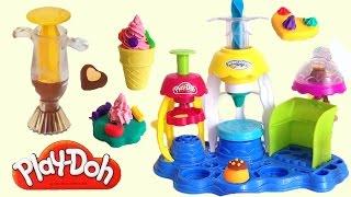 getlinkyoutube.com-PlayDoh Sweet Shoppe Frosting Fun Bakery & Chocolate Popper