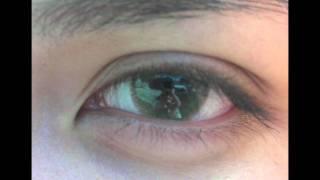 getlinkyoutube.com-Adore Bi-Tone Yellow (on very dark brown-almost black eyes)