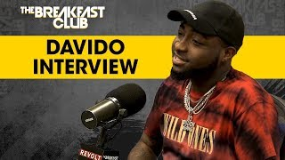 Davido Talks Nigerian Upbringing, Afrobeat Success + More width=