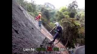 getlinkyoutube.com-Công Nghệ Phun Bê Tông Khô Thi Công Mái Dốc