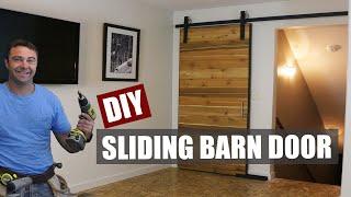 getlinkyoutube.com-How to Make a Sliding Barn Door