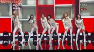 getlinkyoutube.com-달샤벳 Dalshabet - B.B.B (Big Baby Baby) Music Bank 140124