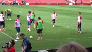 getlinkyoutube.com-arsenal midfielders training session
