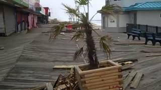 "getlinkyoutube.com-Hurricane Sandy Seaside Heights  ""The Day After"""
