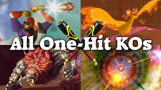 getlinkyoutube.com-Super Smash Bros. series - All One-Hit KO Moves (64, Melee, Brawl, 3DS, Wii U)